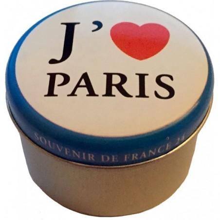 Pack 2 Boites de bougies flottantes à l'huile collector j'aime paris & Champs Elyssée