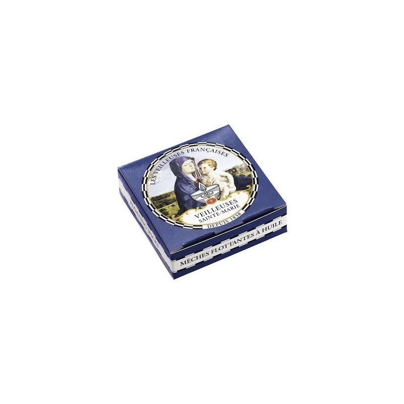 Boîte Ste Marie de bougies flottantes à l'huile