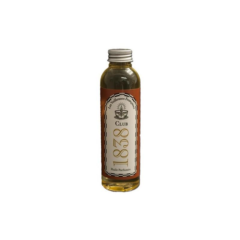 """Flacon d'huile végétale parfumée """"CLUB 1838"""""""