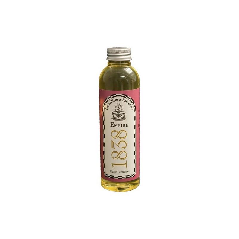 "Flacon d'huile végétale parfumée ""EMPIRE 1838"""